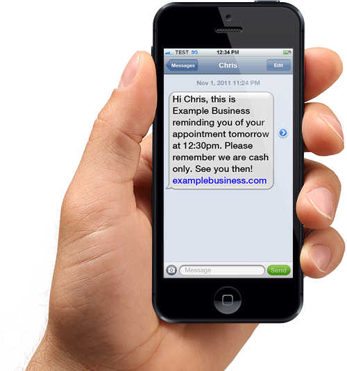 text message cellphone picture - 500×535