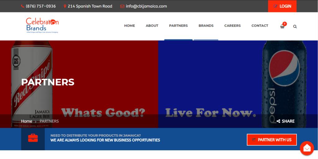 Distributor Website