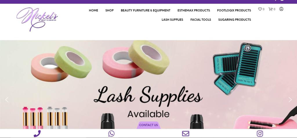 Beauty Supplies Website